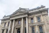 Brussels Stock Exchange, Belgium. — Foto Stock