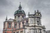 St Aubin's Cathedral, in Namur, Belgium. — Foto Stock