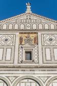 Basílica de san miniato al monte em florença, itália. — Foto Stock