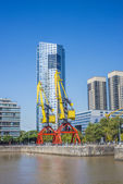 Puerto Madero district in Buenos Aires, Argentina. — Stock Photo