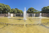 Independence Square in Mendoza city, Argentina — Stock Photo