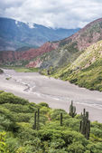 Bishop Slope on Route 40 Salta, Argentina. — Stock Photo