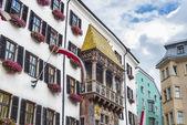The Golden Roof in Innsbruck, Austria. — Stockfoto
