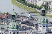 The Salzburg Cathedral (Salzburger Dom) at Salzburg, Austria — Stock Photo