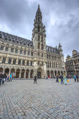 Town Hall in Brussels, Belgium. — Stock Photo
