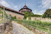 Esslingen am Neckar die große Burgturm, Deutschland — Stockfoto