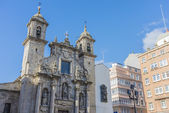Saint George Church in A Coruna, Galicia, Spain — Stock Photo
