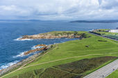 La Caracola in A Coruna, Galicia, Spain — Stock Photo