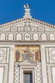 San miniato al monte basilika in florenz, italien. — Stockfoto