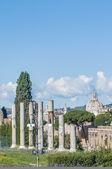 The Roman Forum in Rome, Italy. — Stock Photo