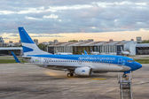Jorge Newbery Airport, Argentina — Stock Photo