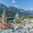 General view of Innsbruck in western Austria. — Stock Photo #40387051