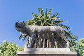 Italy Square (Plaza Italia) in Mendoza, Argentina. — Stock Photo