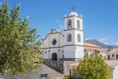 Church of Angastaco on Route 40, Salta, Argentina — Stock Photo
