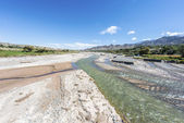 Calchaqui River in Salta, northern Argentina. — Stock fotografie