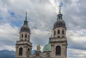 Cathedral of St. James in Innsbruck, Austria. — Stock fotografie