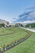 Mirabell Garden (Mirabellgarten) at Salzburg, Austria — Stock Photo