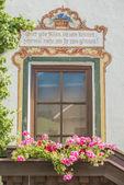 Oberperfuss dorp in de buurt van innsbruck, Oostenrijk. — Stockfoto