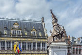 Marie-Christine de Lalaing in Tournai, Belgium. — Stock Photo