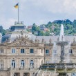 Stock Photo: New Palace at Schlossplatz in Stuttgart, Germany