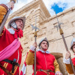 In GuardiParade at St. Jonh's Cavalier in Birgu, Malta. — Stock Photo #40396657