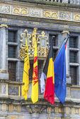 Ratusz Tournai w Belgii. — Zdjęcie stockowe