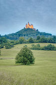 Hohenzollern Castle in Baden-Wurttemberg, Germany — Stock Photo