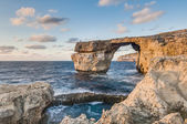 Azure Window in Gozo Island, Malta. — Stock Photo