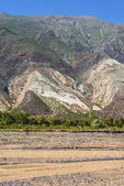 The Painter's Palette in Jujuy, Argentina. — Stock Photo