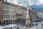 Colonne de Saint anne à innsbruck, Autriche. — Photo