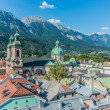 General view of Innsbruck in western Austria. — Stock Photo #40640087