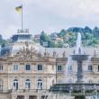 New Palace at Schlossplatz in Stuttgart, Germany — Stock Photo