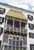 The Golden Roof in Innsbruck, Austria. — Stock Photo