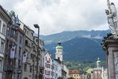 Maria Theresien street in Innsbruck, Austria. — Stock Photo