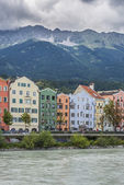 Mariahilf Street in Innsbruck, Austria. — Foto Stock