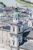 The Salzburg Cathedral (Salzburger Dom) at Salzburg, Austria — Foto Stock