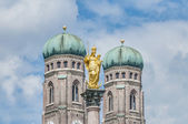The Mariensaule column in Munich, Germany. — Stock Photo