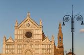 La Basilique de la Sainte Croix à florence, Italie — Photo