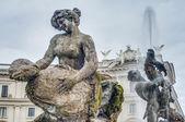 Piazza della Repubblica in Rome, Italy — Stock Photo