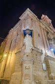 Carmelite Church in Mdina, Malta — Foto Stock