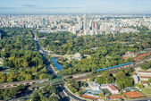 Palermo gardens in Buenos Aires, Argentina. — Stock Photo