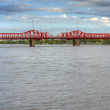 Bridge over Gualeguaychu River, Argentina. — Foto Stock #40900535
