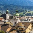 General view of Innsbruck in western Austria. — Stock Photo