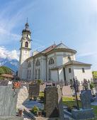 Saint Peter and Paul in Gotzens, Austria. — Stock Photo