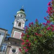 Stock Photo: Spital church in Innsbruck, Austria