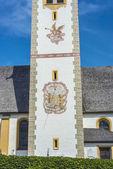 Saint Nicolaus in Mutters near Innsbruck, Austria. — Stock Photo