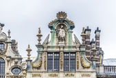 Guildhalls on Grand Place in Brussels, Belgium. — Zdjęcie stockowe