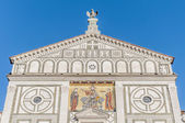 San Miniato al Monte basilica in Florence, Italy. — Stock Photo