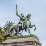 Manuel Belgrano Statue in Buenos Aires, Argentina — Stock Photo