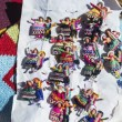 Small wool dolls in Purmamarca, Jujuy, Argentina. — Stock Photo
